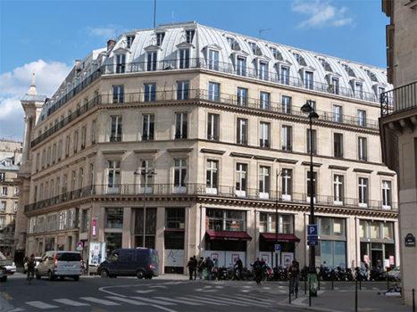 Immeuble domaine Louvre Rivoli