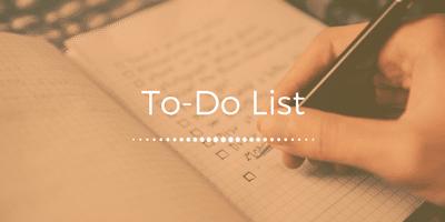 Mieux s'organiser au Quotidien avec une To-Do List
